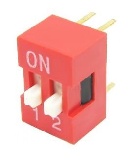 الکترونیک دیپ سوئیچ 2 کاناله