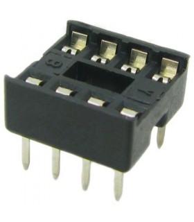 انواع سوکت IC سوکت 8 پایه معمولی