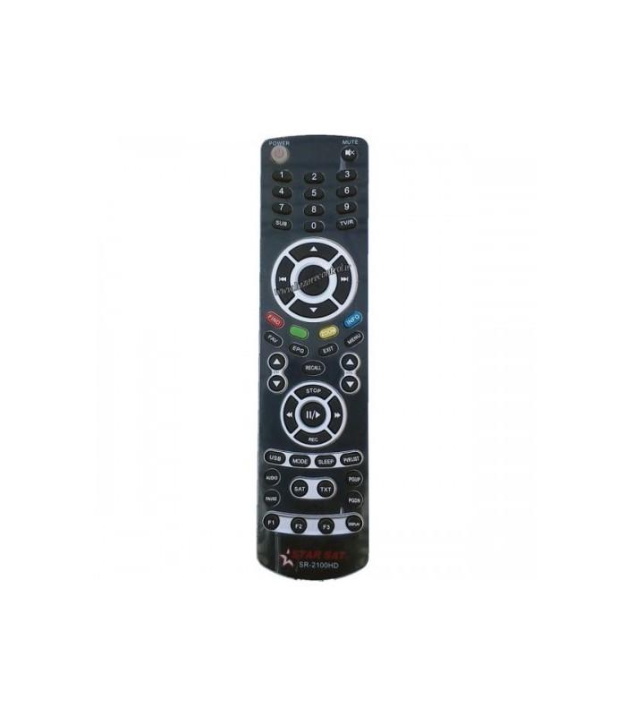 ریموت کنترلDVB کنترل /SR2100HD/ درجه دو
