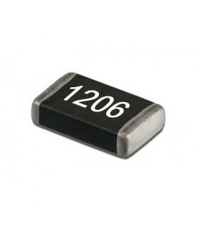 مقاومت SMD سایز 1206 رنج کامل مقاومت 1206 38رنج تعداد 1900 عدد