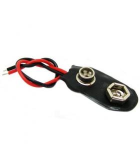جاباتری سر باتری 9 ولت (باتری کتابی)