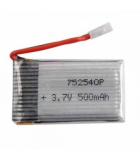 باتری پلیمر باتری هلیکوپتر و کواد کوپتر 1سل 500 میلی