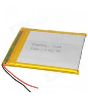 باتری لیتیوم پلیمر 3.7v-2400mAh سایز 326888 مارک MORICELL