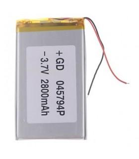 باتری لیتیوم پلیمر 3.7v-2400mAh