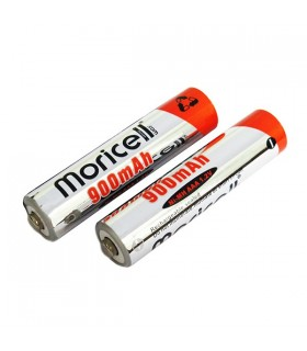 باتری نیم قلمی قابل شارژ moricell مدل AAA900 بسته 2 عددی