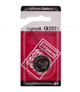 باتری سکه ای لیتیوم 3 ولت 2025 مکسل تک کارت