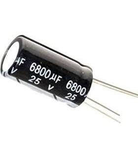 خازن 25 ولت 6800UF 25V