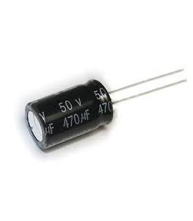 خازن 50 ولت 470UF 50V