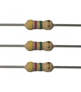 مقاومت 0.25W وات مقاومت/0.25 وات /4.7 مگا