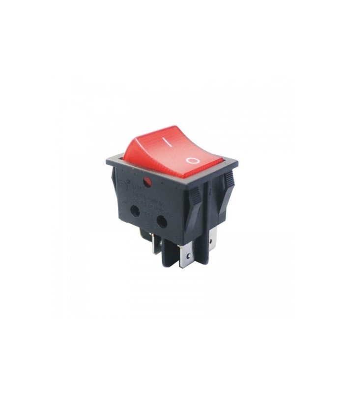الکترونیک کلید راکر بزرگ چهار پایه چراغ دار