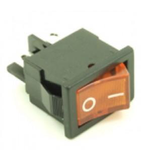 کلید کلنگی و شاسی کلید راکر چراغ دار 220 ولت