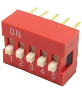الکترونیک دیپ سوئیچ 5 کاناله