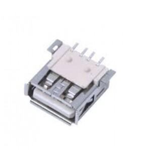 كانكتور USB نوع A خوابيده SMD