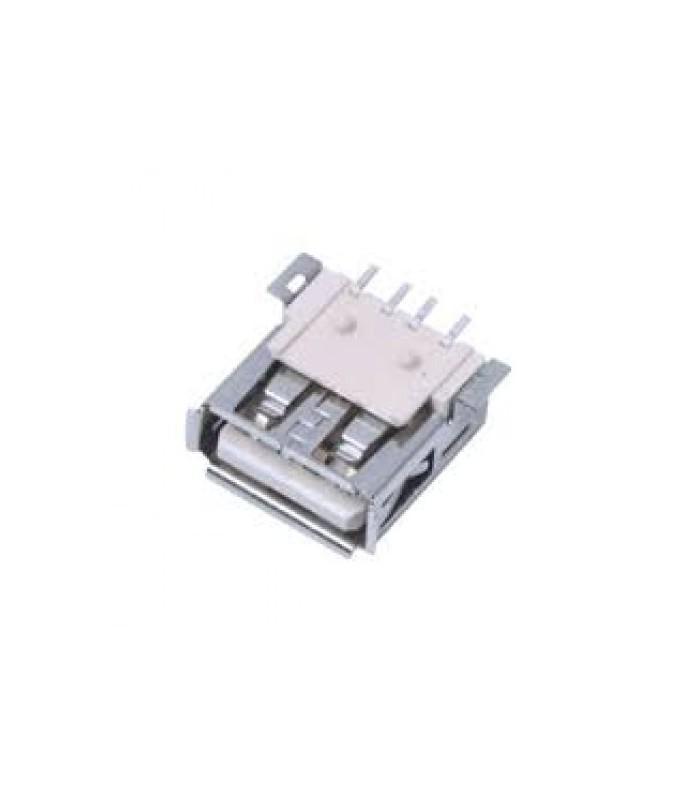 انواع سوکت USB كانكتور USB نوع A خوابيده SMD