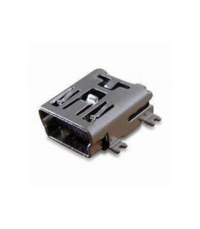 انواع سوکت USB کانکتور خوابیده MINI USB