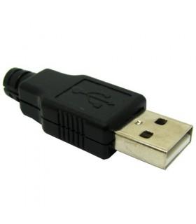 کانکتور نری USB مدل A با روکش