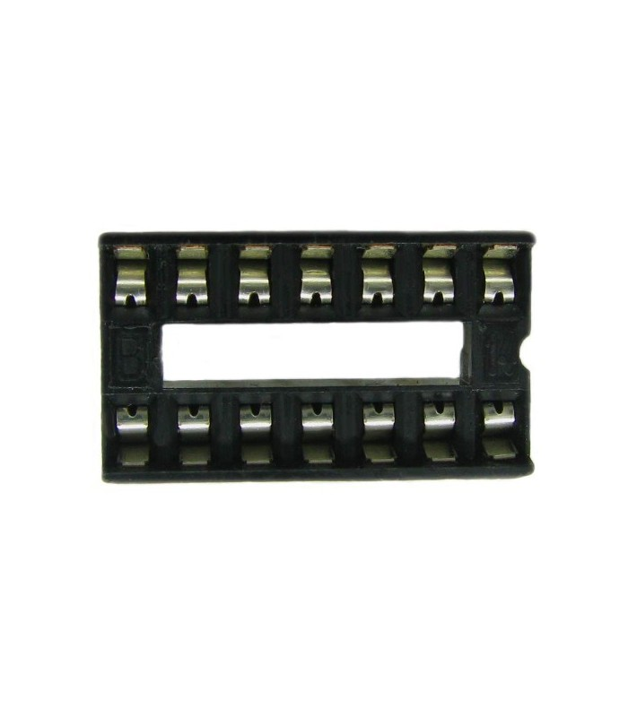 انواع سوکت IC سوکت 14 پایه معمولی