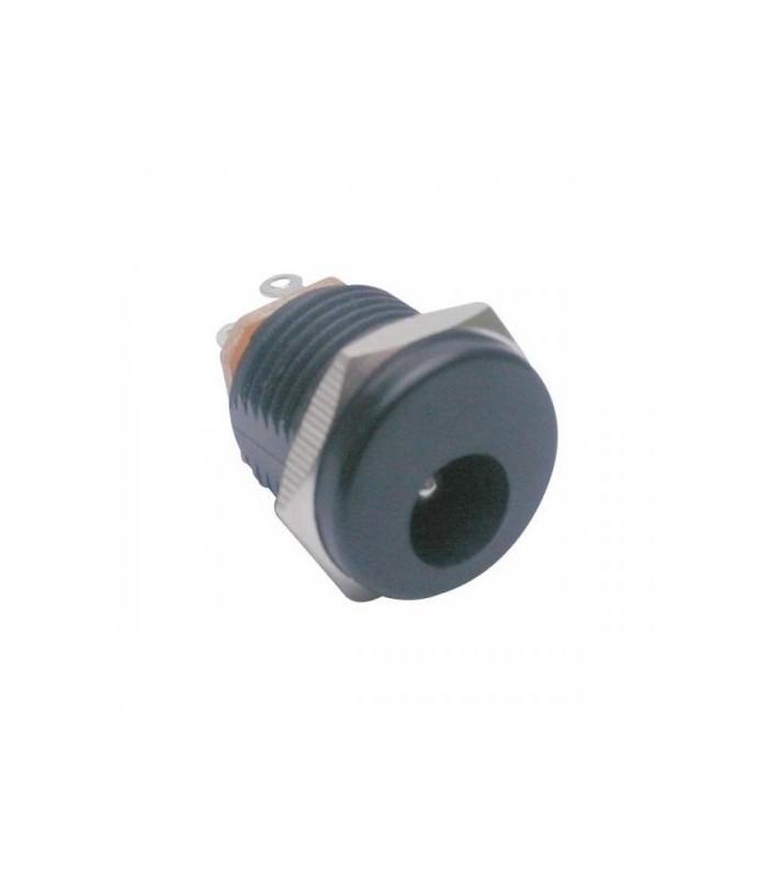 انواع فیش و جک جک اداپتوری رو پنلی پلاستیکی DC-022