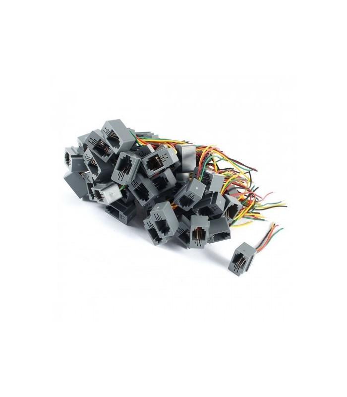 انواع فیش و جک سوکت اویز تلفنی خط 616E