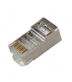 انواع فیش و جک کانکتور فلزی CAT6 RJ45 - سوکت شبکه AMP RJ45