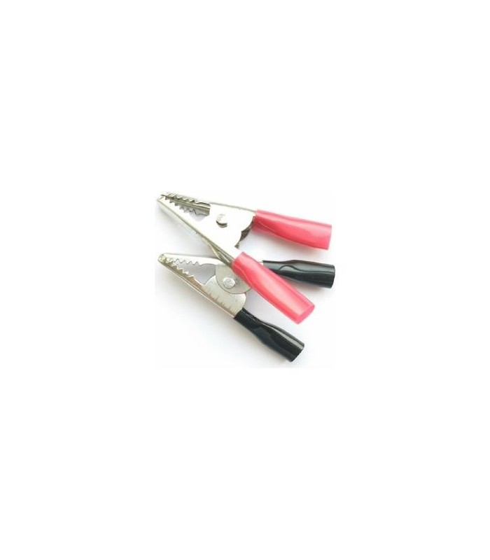 انواع فیش و جک گیره سوسماری سایز 3 رنگ قرمز