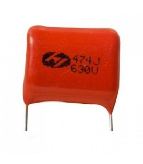 خازن پلی استر 470 نانو 630 ولت