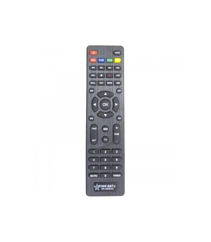 ریموت کنترلDVB کنترل دستگاه استارست 6969HD-8989HD
