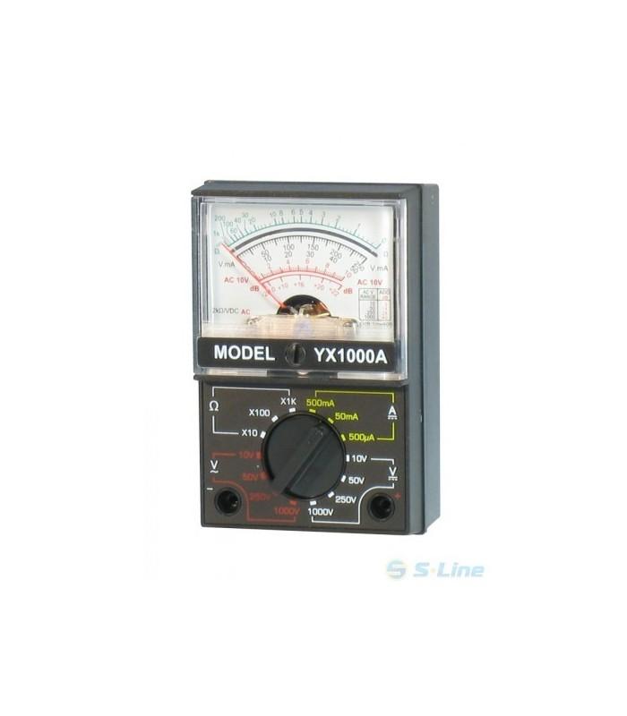 انواع اهمتر و مولتی متر اهمتر عقربه ای کوچک YX-1000A