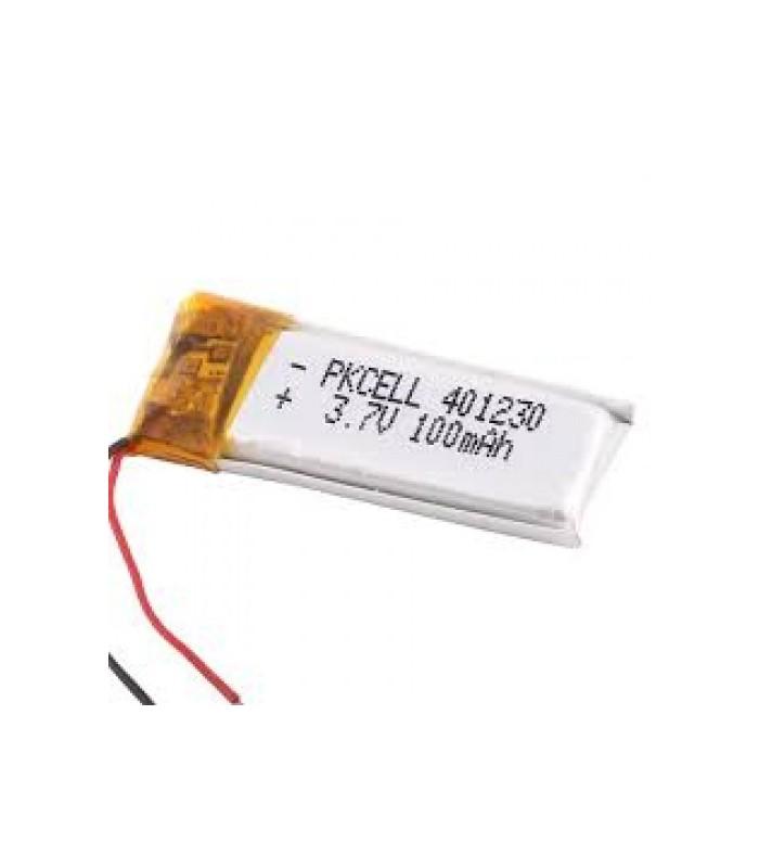 باتری پلیمر باطری پلیمر 3.7 ولت 130 میلی امپر
