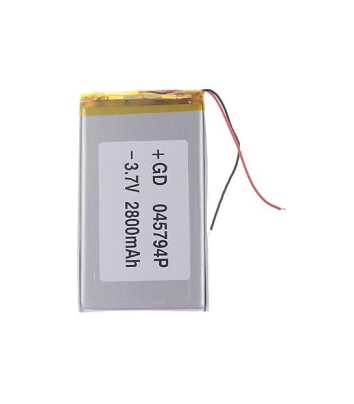 باتری پلیمر باتری لیتیوم پلیمر 3.7v-2400mAh