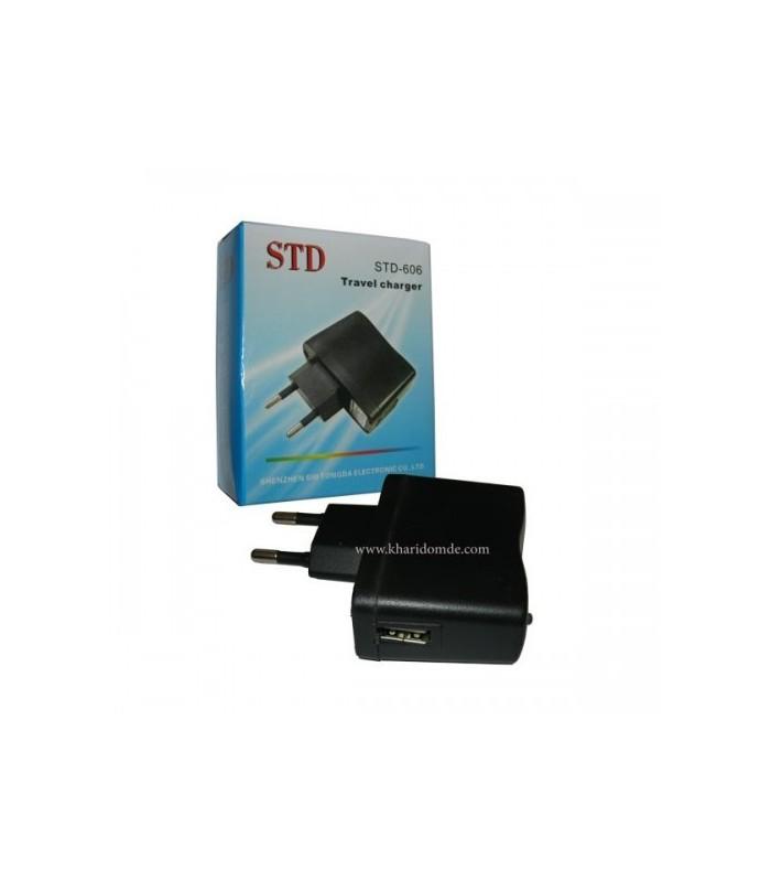 اداپتور شارژ USB مدل STD-606