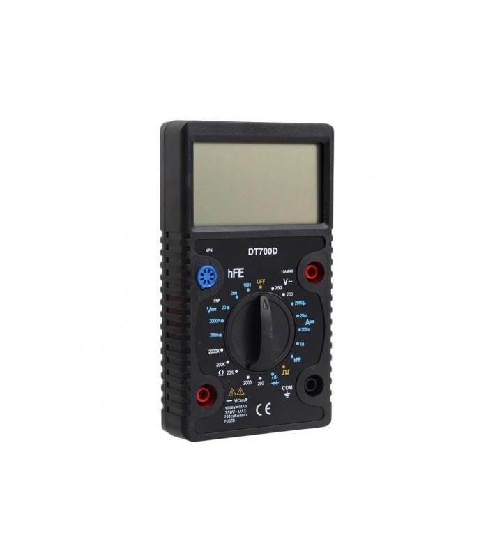 انواع اهمتر و مولتی متر مولتي متر DT700