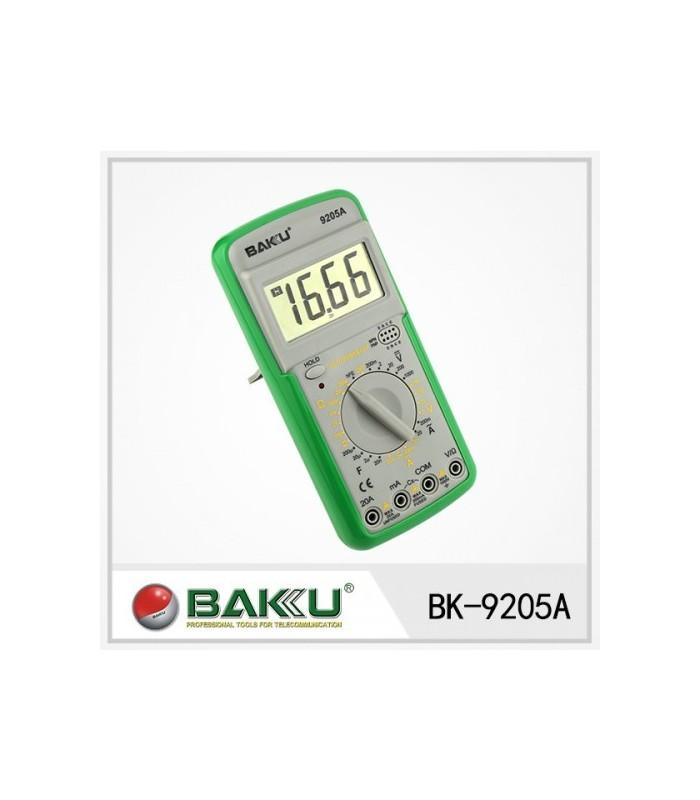 انواع اهمتر و مولتی متر مولتي متر BAKU BK-9205A