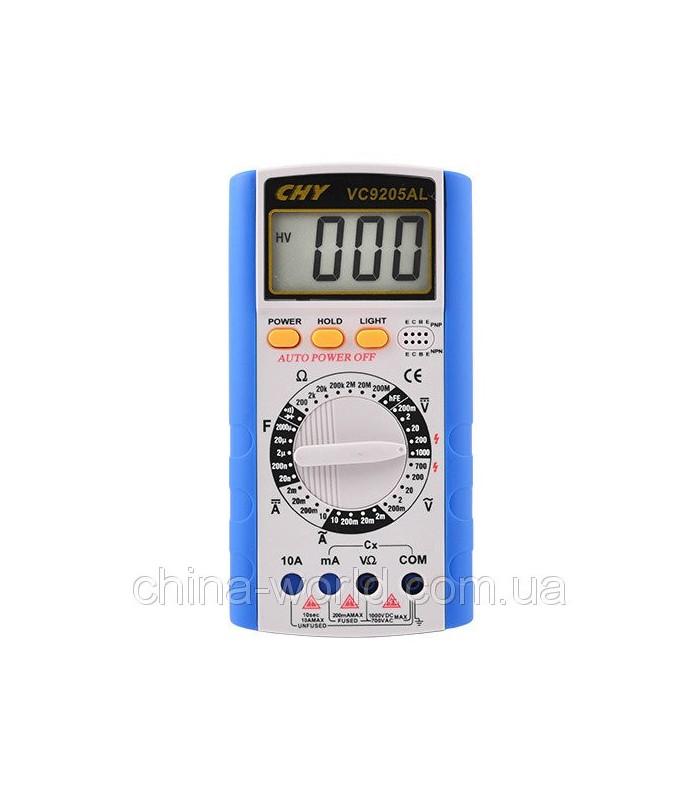 انواع اهمتر و مولتی متر مولتي مترCHY/VC-9205AL