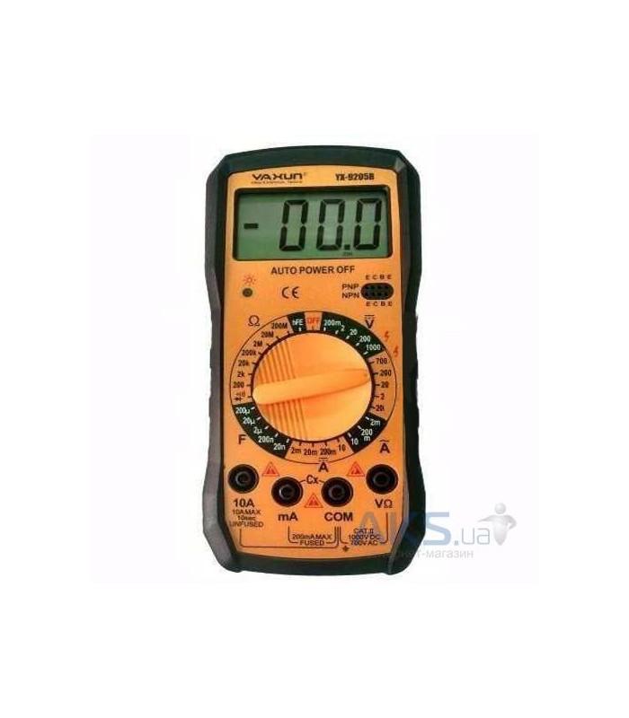 انواع اهمتر و مولتی متر مولتي متر/YAXUN/YX-9205B