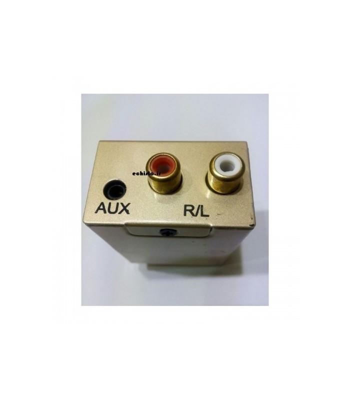 انواع کابل رابط صوتی و تصویر دستگاه تبديل OPTICL به AV