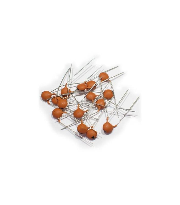 انواع خازن عدسی خازن 100 نانو فاراد عدسی/50 ولت