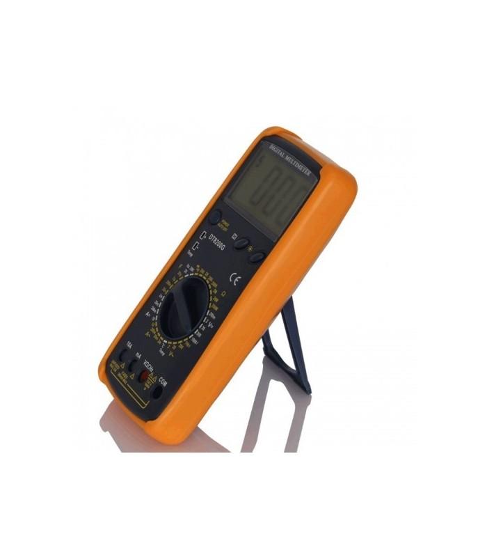 انواع اهمتر و مولتی متر مولتی متر DT-8200D