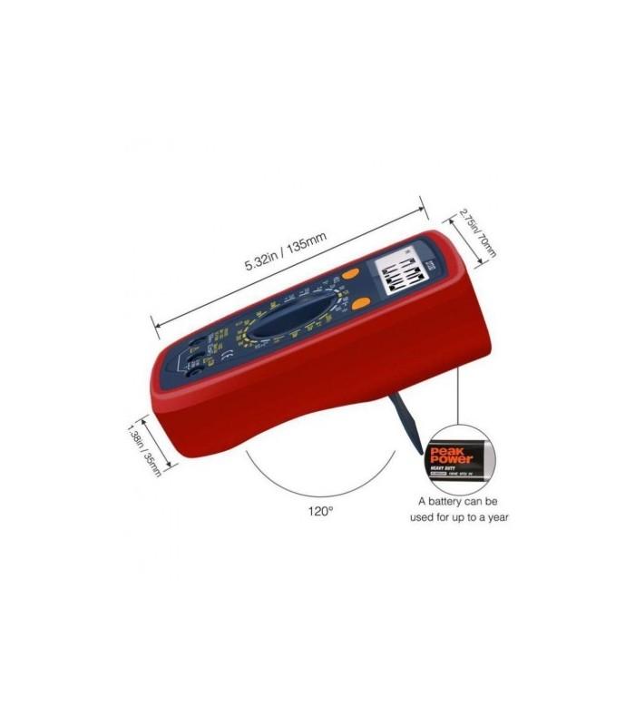 انواع اهمتر و مولتی متر مولتی متر DT33D