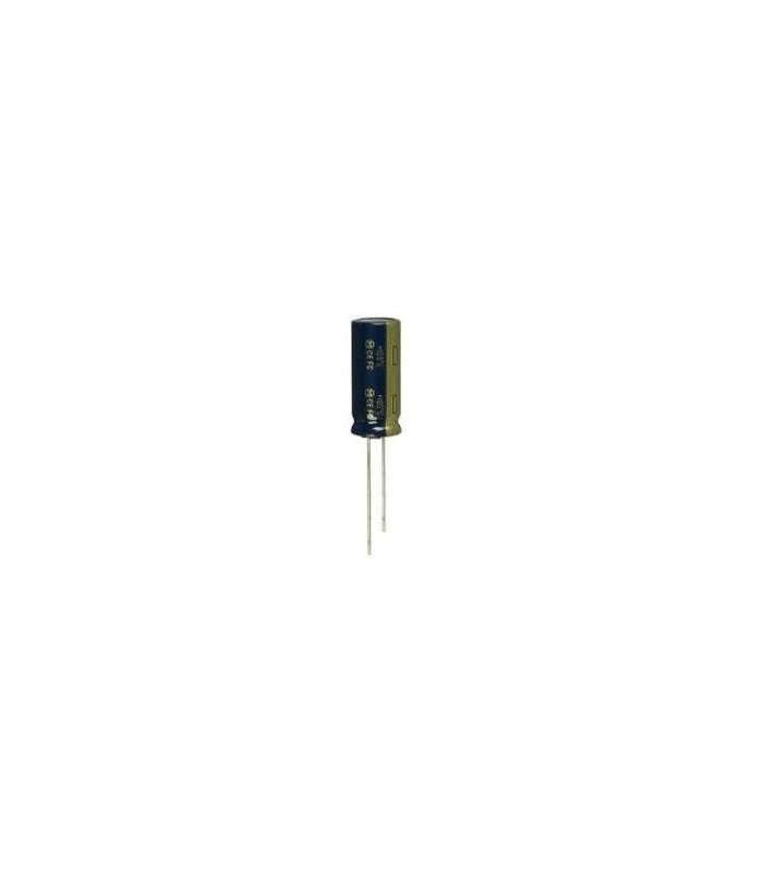 خازن 16 ولت 1000UF 16V/باریک پایه کوتاه