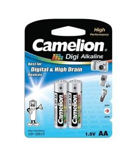 باتري 2 عددي/AA/الكلاين/DG/camelion/LR6-BP2DG