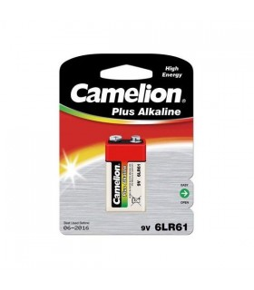 باتری کتابی 9 ولت پلاس آلکالاین کملیون 6LR61-BP1