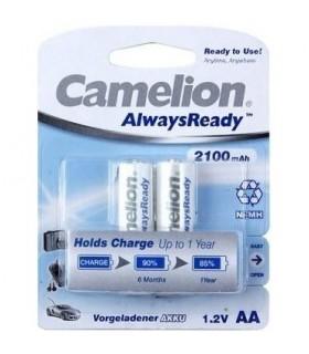 باتری شارژی قلمی دوتایی CAMELION AA 2100mAh