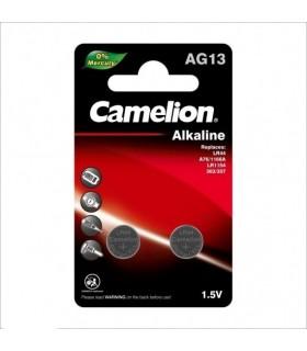 باتری سکه ای کملیون مدل AG13 بسته 2 عددی