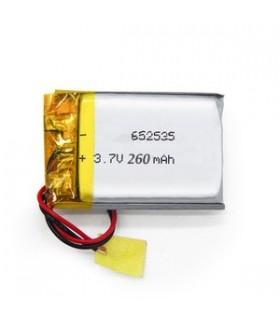 باتری لیتیوم پلیمر 3.7v-260mAh