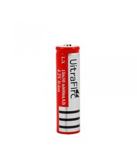 باتری 18650 لیتیوم 3.7 ولت شارژی 4200 میلی امپر اولترا فایر-ultra fire