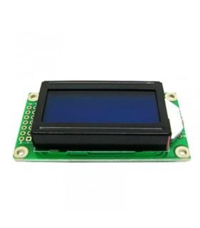 نمایشگرLCD کاراکتری 8*2 ابی (پایه کنار)