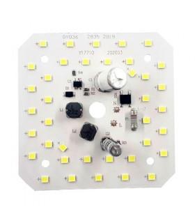 برد LED آلومينيومي 220 ولت 38 وات مهتابي مربعي