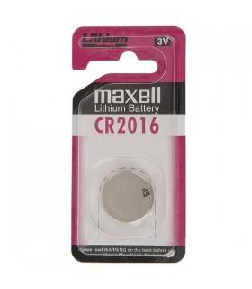 باتری سکه ای لیتیوم 3 ولت 2016 maxell تک کارت