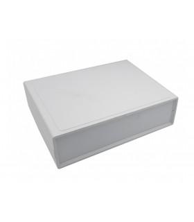 جعبه برد اهنی چهار تکه سفید 155x118x42mm